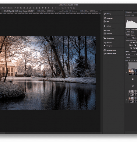 cursus adobe photoshop cc voor beginners